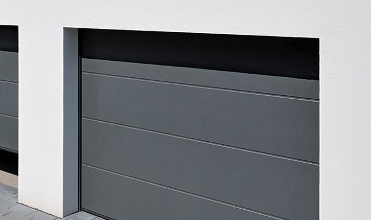 Portes de garage ecotech fermetures - Rideau de garage enroulable ...